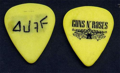 Guns N' Roses Duff McKagan Guitar Pick