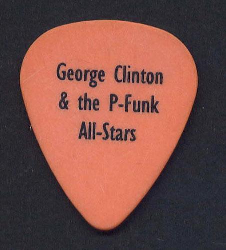 George Clinton  Guitar Pick