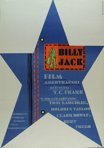 Jan Mlodozeniec Billy Jack Polish Movie Poster