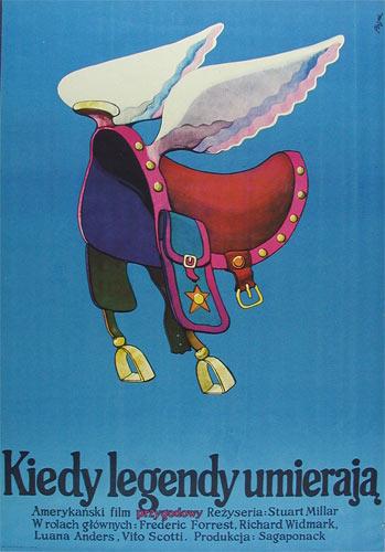 Jerzy Flisak When The Legends Die Polish Movie Poster