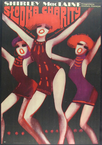 Wiktor Gorka Sweet Charity Shirley MacLaine Polish Movie Poster