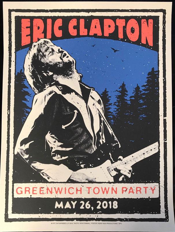 Print Mafia Eric Clapton Poster