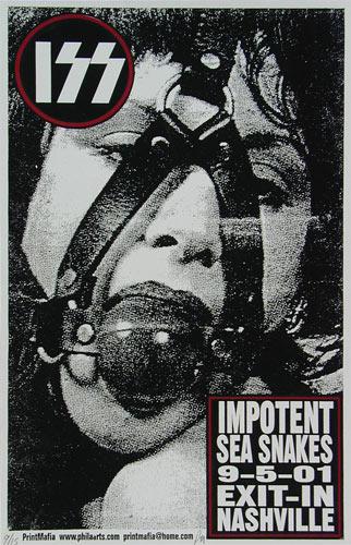 Print Mafia Impotent Sea Snakes Poster