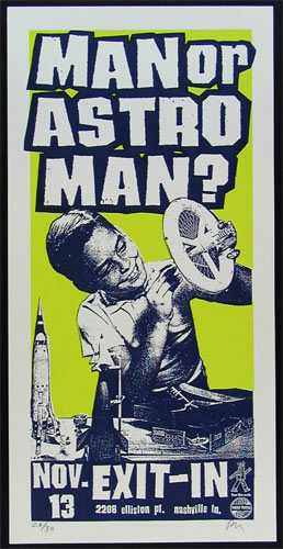 Print Mafia Man Or Astroman? Poster
