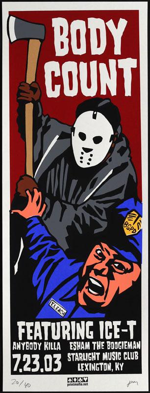 Print Mafia Body Count - Ice T Poster