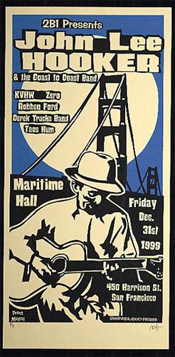 Print Mafia John Lee Hooker Poster