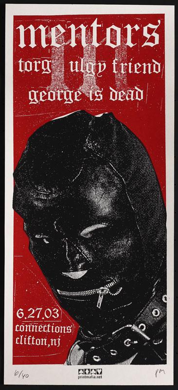 Print Mafia Mentors Poster