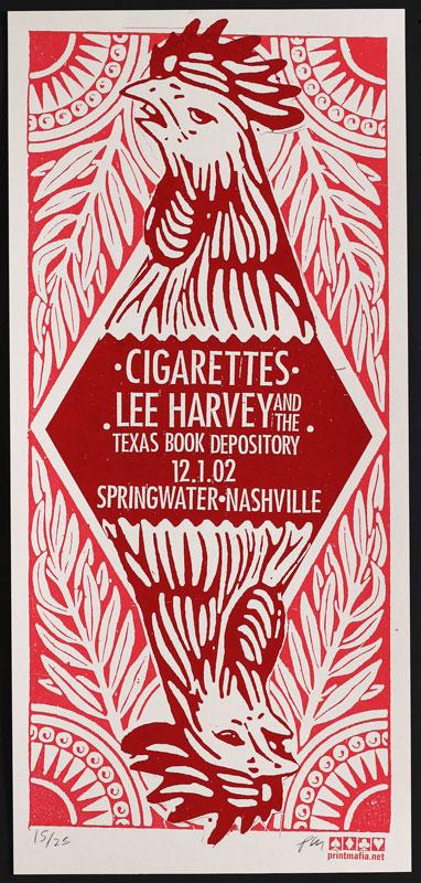 Print Mafia Cigarettes Poster