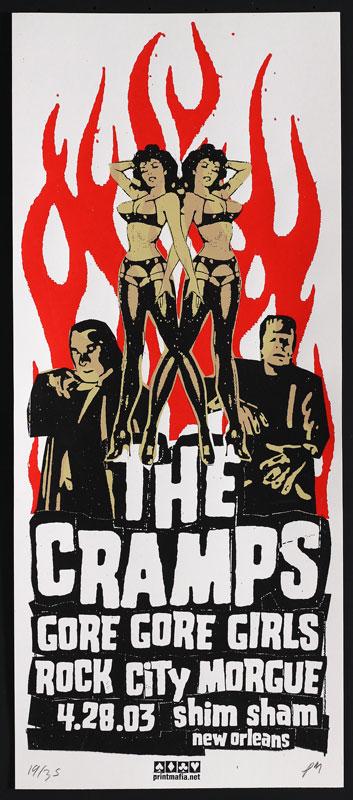 Print Mafia The Cramps Poster