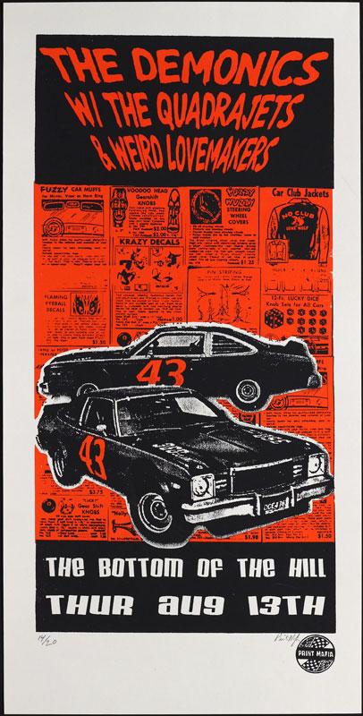 Print Mafia Demonics Poster
