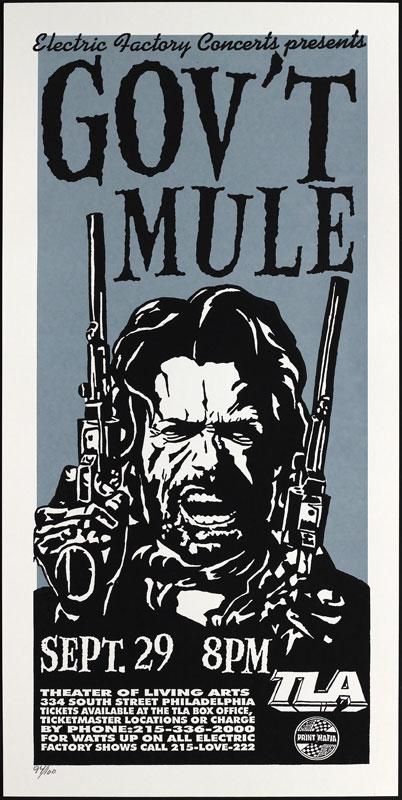 Print Mafia Gov't Mule Poster