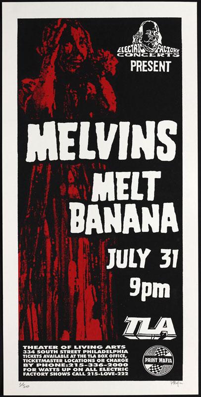 Print Mafia Melvins Poster