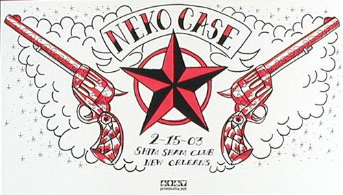 Print Mafia Neko Case Poster