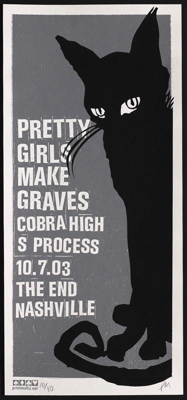 Print Mafia Pretty Girls Make Graves Poster