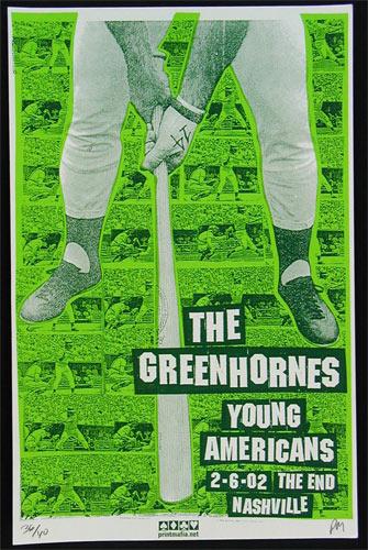 Print Mafia Greenhornes Poster