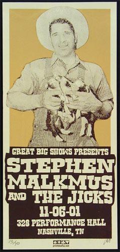 Print Mafia Stephen Malkmus Poster