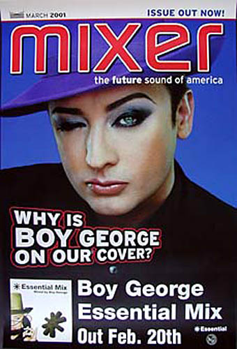 Boy George Mixer Photo Promo Poster