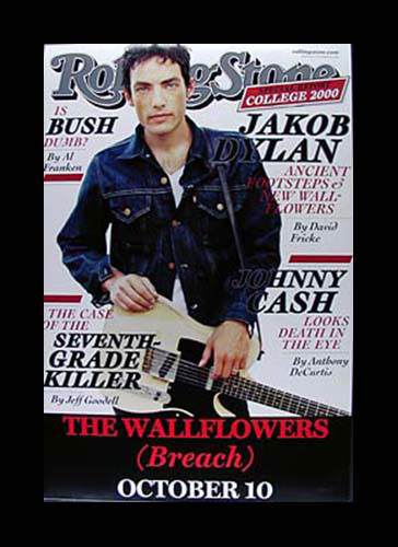 Jakob Dylan Rolling Stone Promo Poster