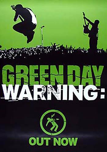 Green Day Warning Promo Poster