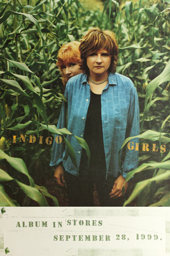 Indigo Girls Come On Now Social 1999 Album Release Promo Poster