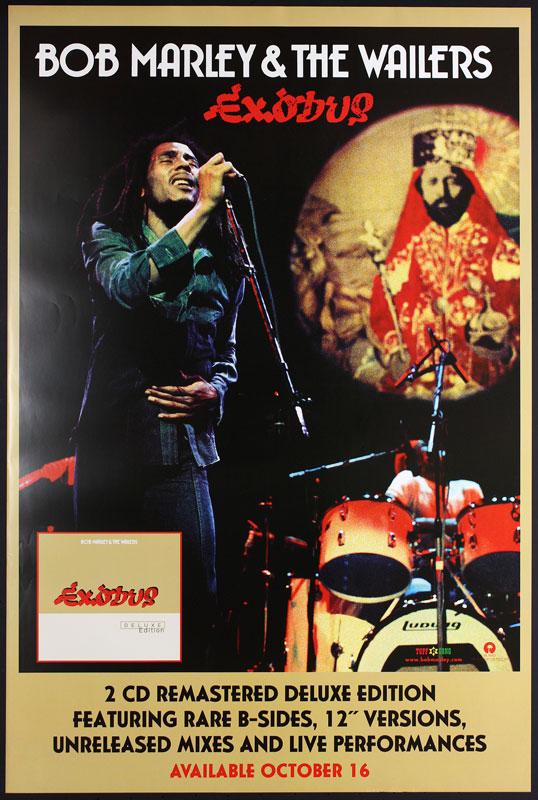 Bob Marley Exodus Promo Poster
