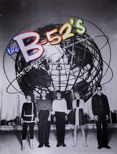 The B-52's Time Capsule Promo Poster