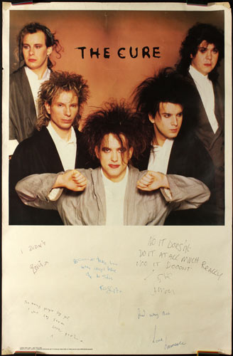 The Cure Promo Poster