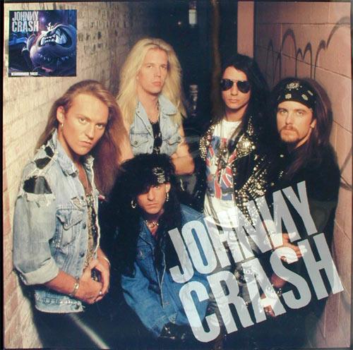 Johnny Crash Neighbourhood Threat Album Release Promo Poster