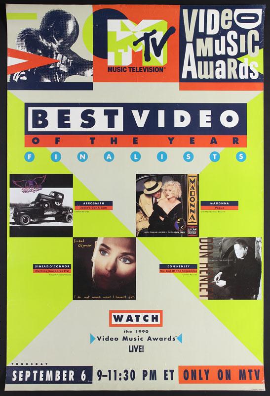 MTV Video Music Awards Promo Poster