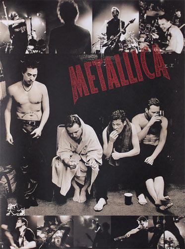 Metallica1998 Electra EntertainmentReload / Garage era Promo Poster