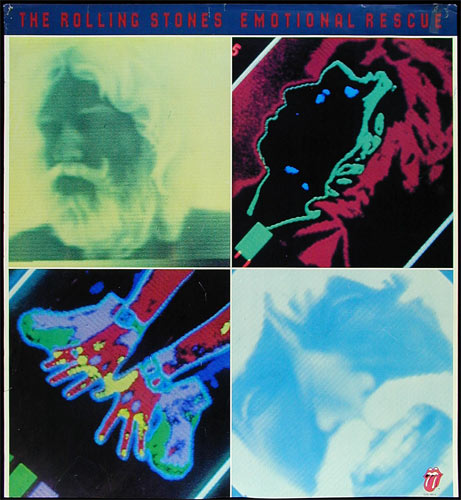 The Rolling Stones - Emotional Rescue Promo Poster