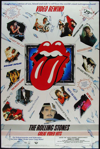 The Rolling Stones - GreatVideo Hits Promo Poster