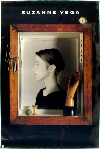 Suzanne Vega Days of Open Hand A&M Promo Poster