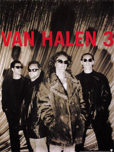 Van Halen 31998 Warner Brothers Promo Poster