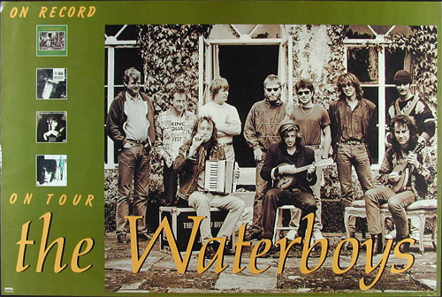 The Waterboys On Record / On Tour Promo Poster