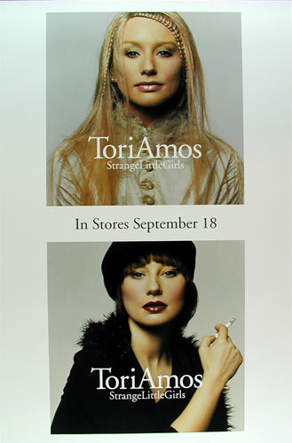 Tori Amos Strange Little Girls Promo Poster