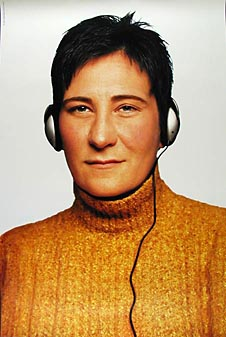 k.d. Lang  2000 Sony Promo Poster