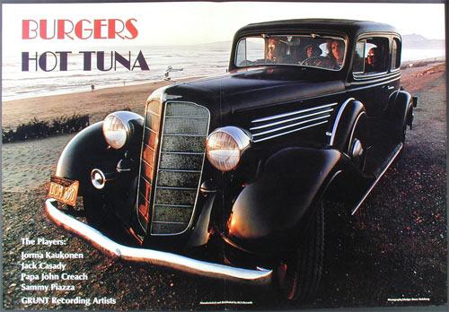 Hot Tuna Burgers Album Release Promo Poster