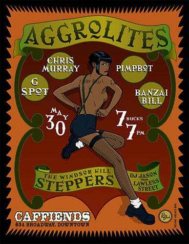 R. Black Aggrolites Poster