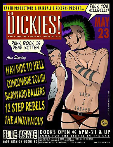 R. Black The Dickies Poster