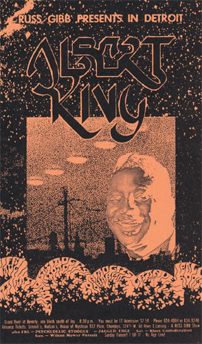 Carl Lundgren Albert King postcard