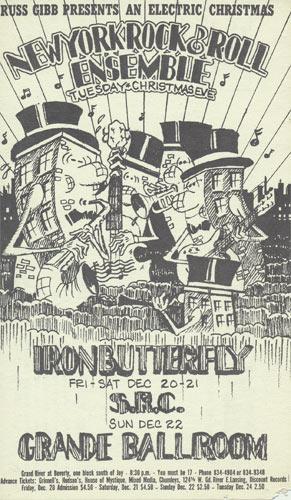 Carl Lundgren Iron Butterfly postcard