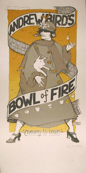 Jay Ryan and Diana Sudyka Andrew Bird's Bowl Of Fire Poster