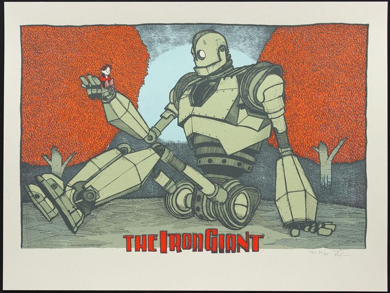 Jay Ryan The Iron Giant Movie Poster