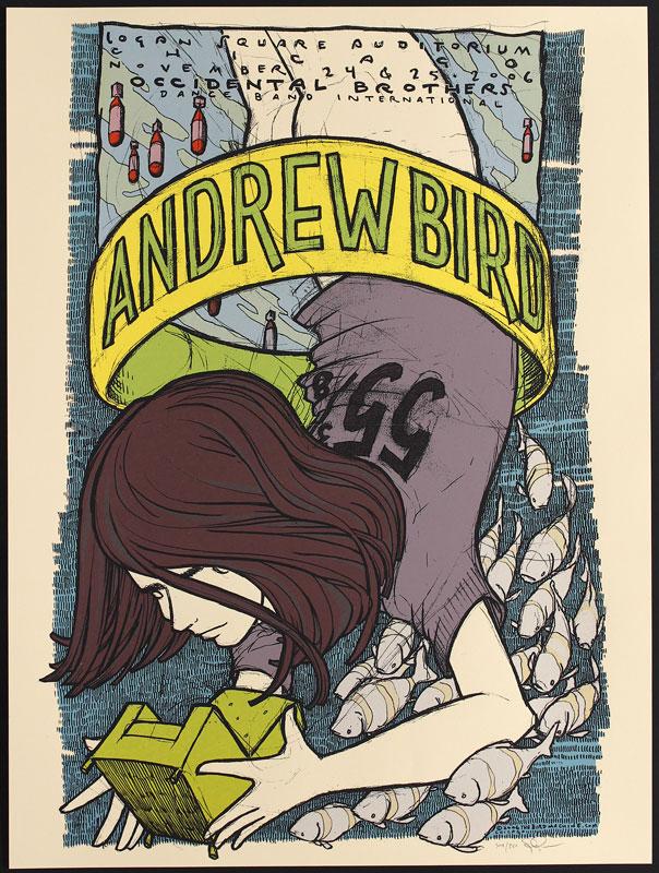 Jay Ryan Andrew Bird Poster