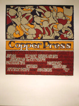 Jay Ryan Copper Press Poster
