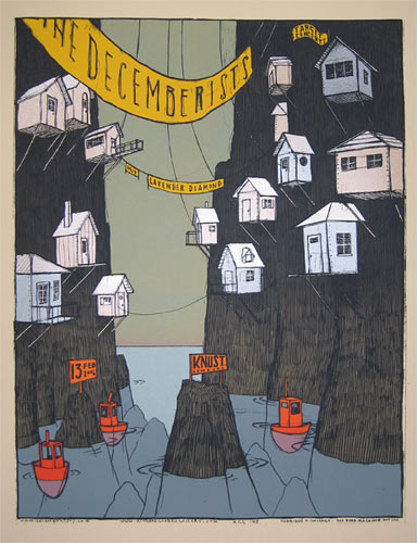 Jay Ryan The Decemberists Poster