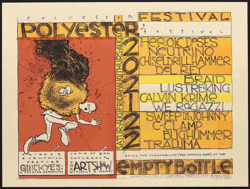 Jay Ryan Polyester Festival Poster