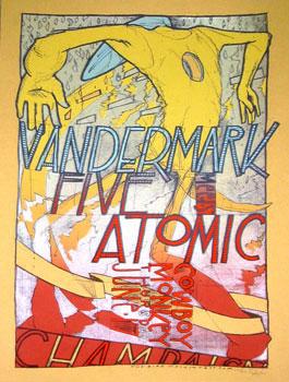 Jay Ryan Vandermark Five Poster