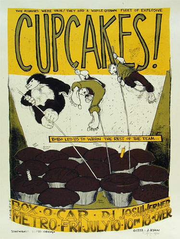 Jay Ryan Cupcakes Poster